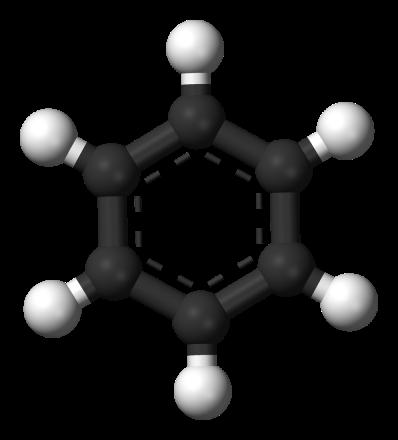 Benzene-aromatic-3D-balls